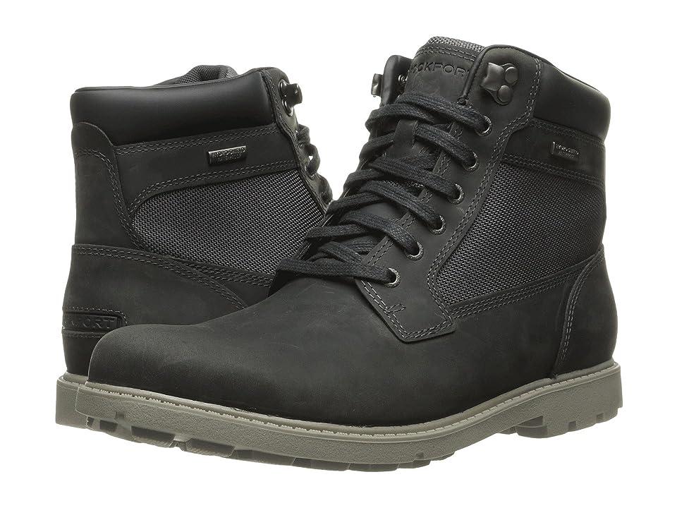 Rockport Rugged Bucks Waterproof High Boot (Castlerock Grey) Men
