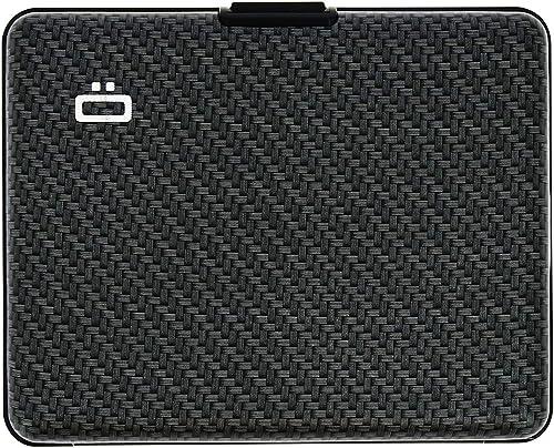Ögon Smart Wallets - Portefeuille en Aluminium Big Stockholm - Format Carte d'identité et Permis de Conduire - Porte-...