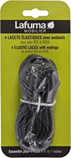 Lafuma Replacement Laces for RSX and RSX XL Recliners - Black