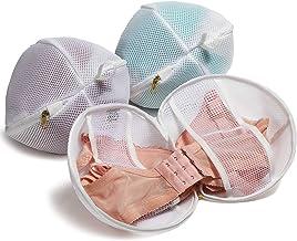 TENRAI Set of 3 (3 Medium) Bra Bags, Fits A-D cup, Delicates Laundry Bags, Bra Fine Mesh Wash Bag, Use YKK Zipper, Protect...