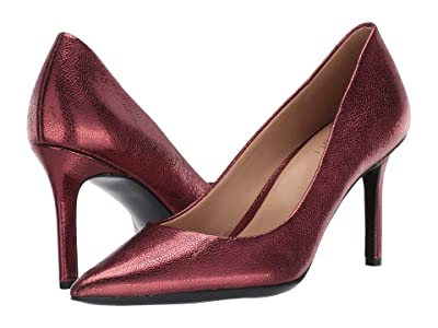 Naturalizer Anna (Cranberry Crackle Metallic Leather) Women