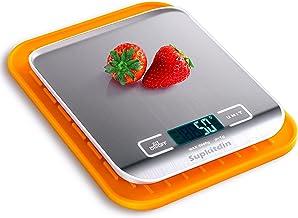 Supkitdin Balance de Cuisine électronique, Balance de Cuisine numérique pour la Cuisson et pâtisserie, Fonction Tare, Affi...