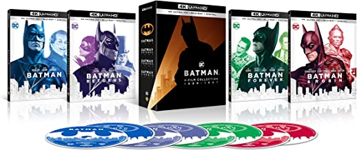 Batman 4K Film Collection (4K Ultra HD + Blu-ray + Digital)