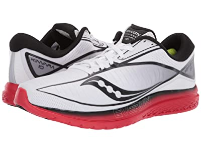 Saucony Kinvara 10 (White/Red) Men