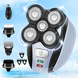 Sponsored Ad - iwoole Head Shaver for Bald Men,5 in 1 Electric Shavers for Bald Head Cordless,Waterproof Wet Dry Mens 5 He...