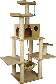 Aeromark International Armarkat Cat Tree Furniture Condo, Height -70-Inch to 75-Inch