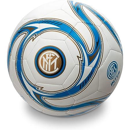 Mondo- F.C. Inter Milano 13642 Pallone Calcio, Colore Nero Azzurro Bianco, Size 5, 2/14/54