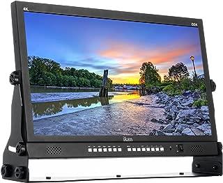 Ikan Delta 23.8-inch Native Ultra HD 4K Monitor w/Quad Split Display, 4 HDMI Inputs with Quad Split Display, 3G-SDI Inputs with Looping Output (D24) - Black