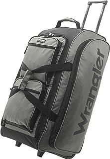 """Wrangler 30"""" Multi-Pocket Rolling Travel Duffel Bag"""