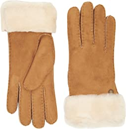 Classic Turn Cuff Waterproof Sheepskin Gloves
