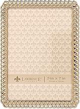 إطار صورة معدني لورانس فريمز إتيرنتي رينجز مقاس 10.16 سم × 15.24 سم، فضي 5x7 714257