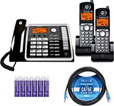 $169 » Motorola ML25260 Expandable Corded 2-Line Business Phone with Digital Answering System Bundle with 2-Pack of ML25055 2-Lin...