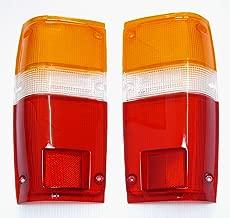 Toyota Pick up Truck 1984-1988 Tail Lights Lens Lenses Pair 84 85 86 87 88