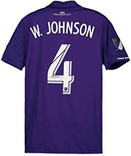 Will Johnson Orlando City SC Autographed Match-Used Purple #4 Jersey vs. Philadelphia Union on September 1, 2018 - Fanatics Authentic Certified