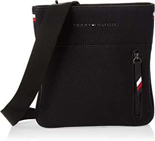 Tommy Hilfiger Essential Mini Crossover Messenger Bag, Black, 22 cm AM0AM05229