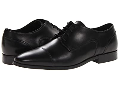 Florsheim Jet Cap Toe Oxford (Black) Men
