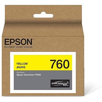 Epson Cartucho de Tinta color Amarillo para Surecolor P600, T760420