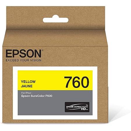 Epson T760420 UltraChrome HD Yellow Standard Capacity Cartridge Ink