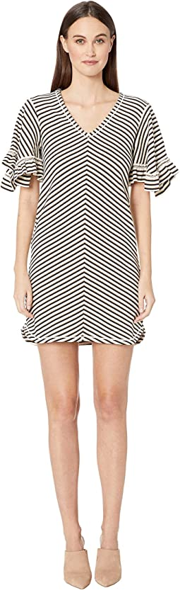Stripped Jersey Dress