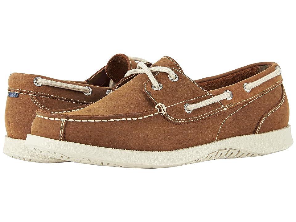 Nunn Bush Bayside Lites Two-Eye Moc Toe Boat Shoe (Tan) Men
