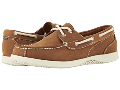 Nunn Bush Bayside Lites Two-Eye Moc Toe Boat Shoe (Tan) Men