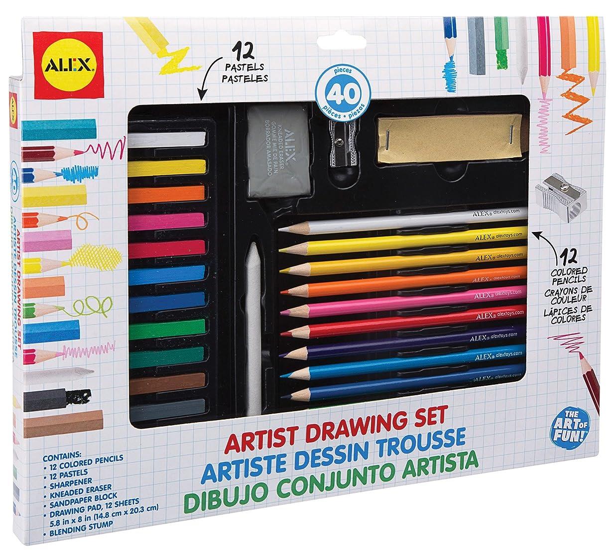 ヘクタール知らせるまともなAlex Toys Artist Studio Artist Drawingセット