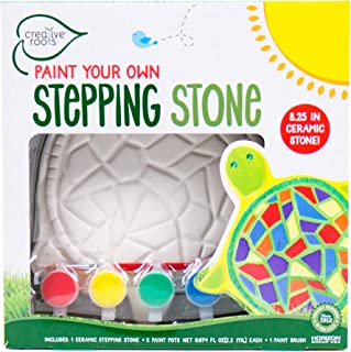Creative Roots 92849 Paint Your Own Turtle Stepping Stone by Horizon Group Usa, 6 Paint..