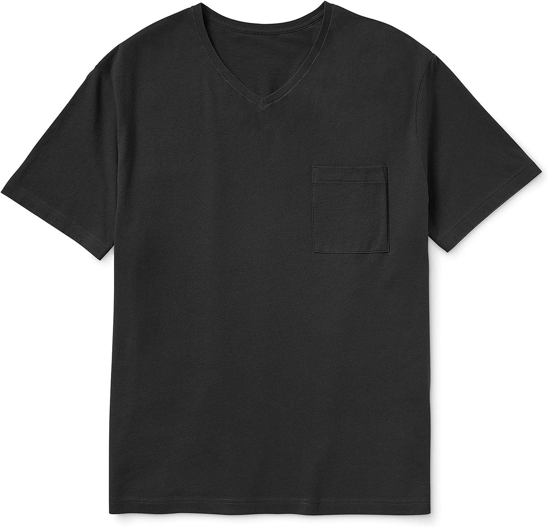 Goodthreads Men's supreme Big Tall The Perfect Pocket T-Shirt V-Neck Manufacturer OFFicial shop