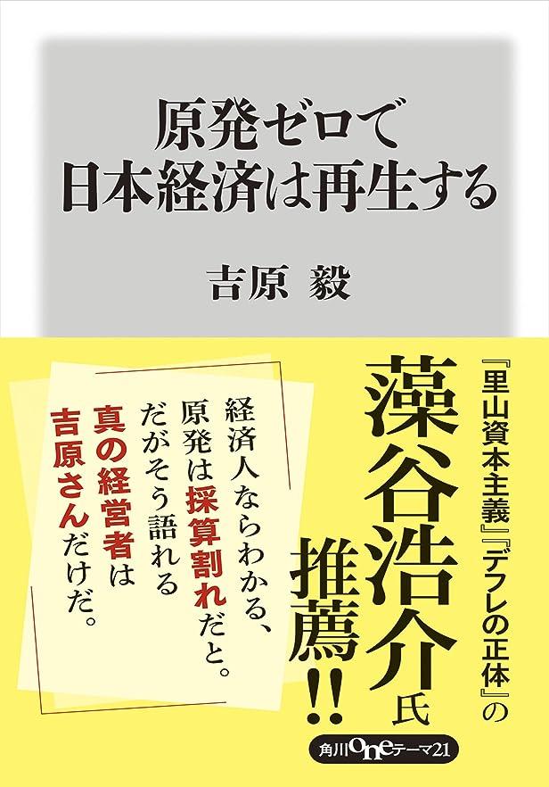 メーター例示するハンドブック原発ゼロで日本経済は再生する (角川oneテーマ21)