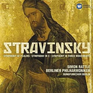 Stravinsky : Symphonies Berliner PhilhaRmoniker - Rattle