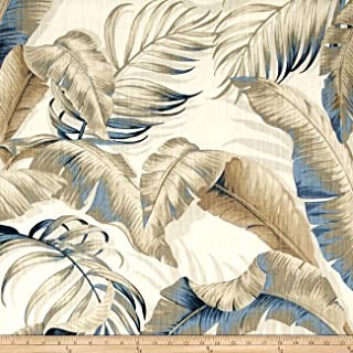 Tommy Bahama Home Dec Palmiers Fabric, Riptide