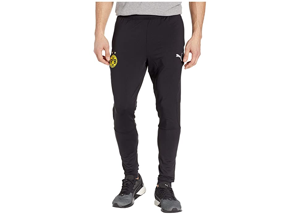 PUMA BVB Training Pants Tapered w/ Zipped Pockets (PUMA Black) Men