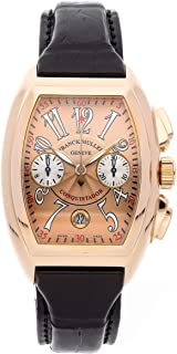 Franck Muller Conquistador Mechanical (Automatic) Rose Dial Mens Watch 8005CC (Certified Pre-Owned)