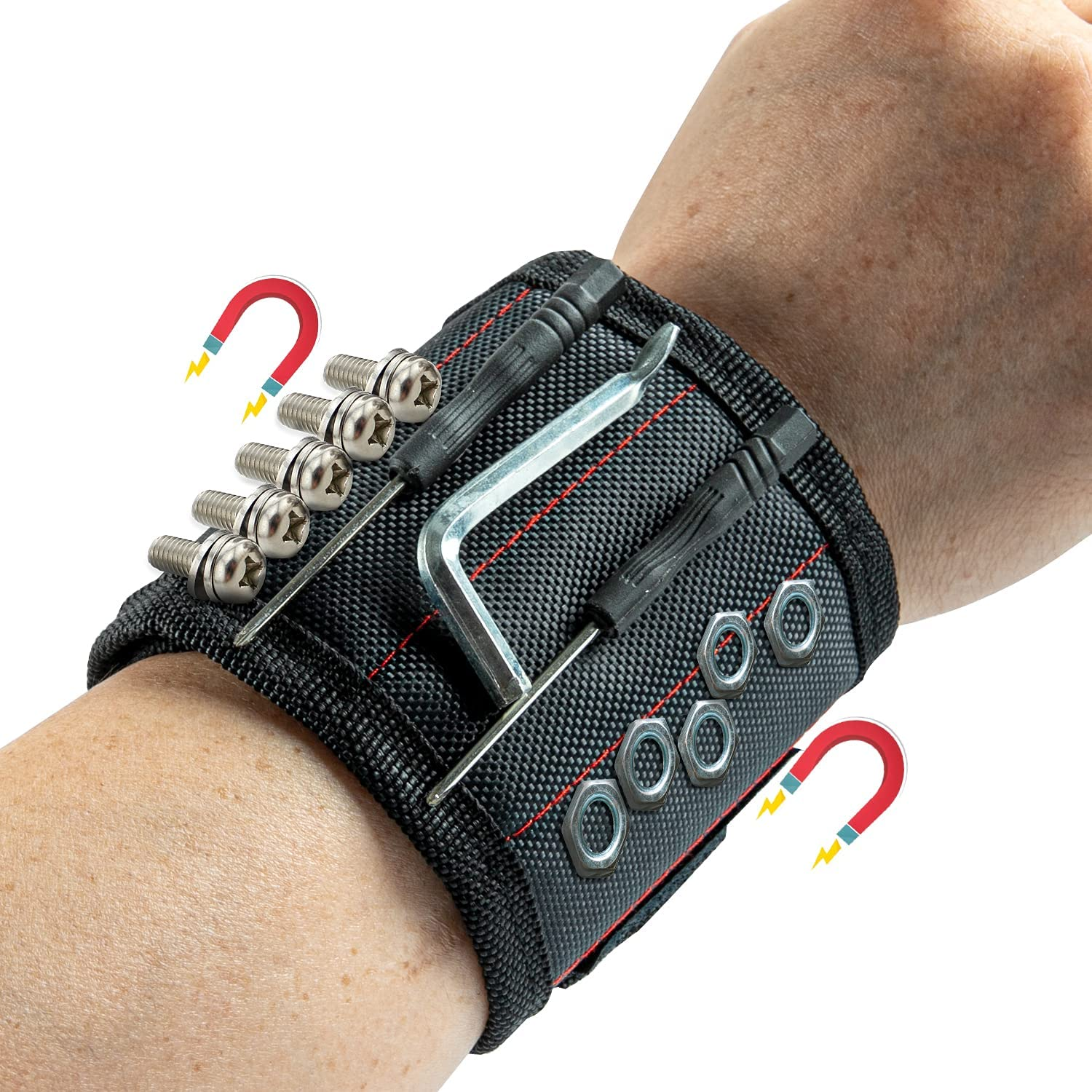 Newest Enhanced Magnetic Los Angeles Discount is also underway Mall Wristband Tool with Belt 15 Powerful M