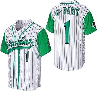 Kekambas Men's #1 G-Baby Jarius Evans Hardball Movie Baseball Jersey