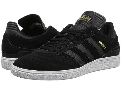 adidas Skateboarding Busenitz Pro (Black/Black/White) Men