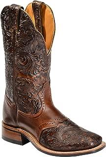 Boulet Women's Hand Tooled Dankan Ranger Cowgirl Boot Square Toe - 2050