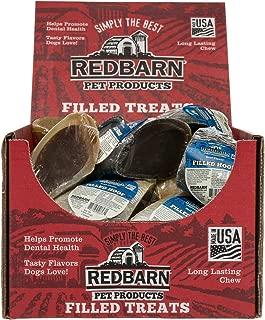 Redbarn - Filled Hooves Pet Treats, Meaty Beef Mixture (Case Pack - 25)