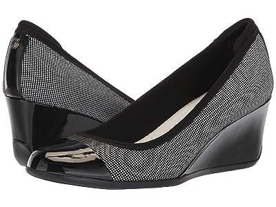 Anne Klein Sport Taite Wedge Heel (Black Multi) Women