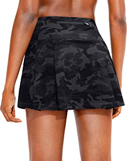 Sponsored Ad - Soothfeel Pleated Tennis Skirt for Women with Pockets Women's High Waisted Athletic Golf Skorts Skirts for ...