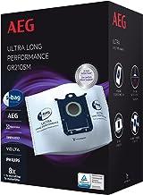 AEG GR210SM s-bag Ultra Long Performance worki do odkurzacza MegaPack (8 szt. 1 filtr silnika, 1 mikrofiltr, optymalna fil...