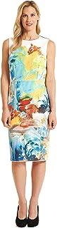 Teagan Sleeveless Woven Dress Multi color