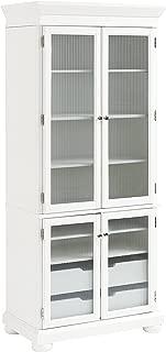 Crosley Furniture Alexandria Kitchen Pantry Cabinet - White