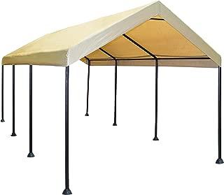Caravan Canopy Mega Domain 10 X 20-Feet Carport - Tan