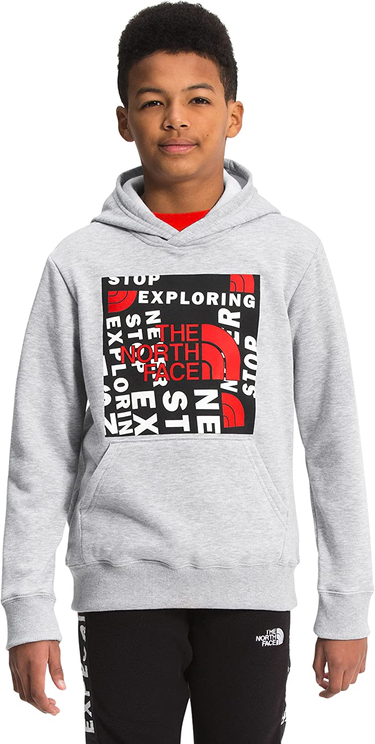 The North Face Boys' Camp Fleece Pullover Hoodie