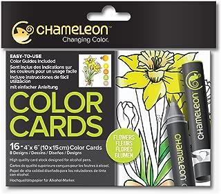 Chameleon Art Products, Chameleon Color Cards - Flowers