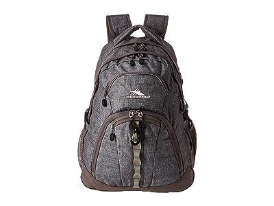 High Sierra Access II Backpack (Woolly Weave/Slate) Backpack Bags