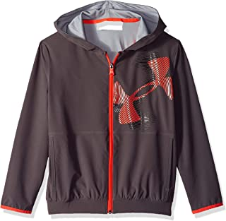 Under Armour Boys Jersey Lined Woven Jacket