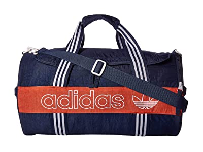 adidas Originals Originals Spirit Roll Duffel (Collegiate Navy/Raw Amber/White) Duffel Bags
