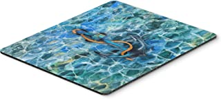 Caroline's Treasures BB5370MP Anchor and Rope Mouse Pad, Hot Pad or Trivet, Large, Multicolor
